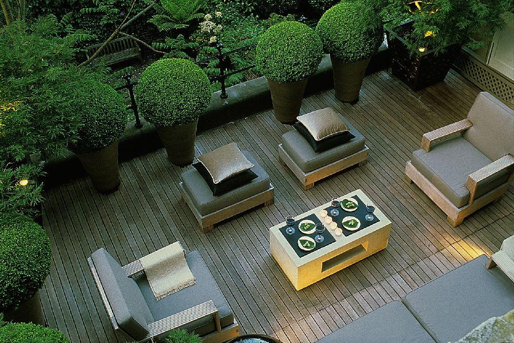 adelaparvu.com despre gradini mici si elegante, Gradina Harcourt Terrace, designer Luciano Giubbilei (3)