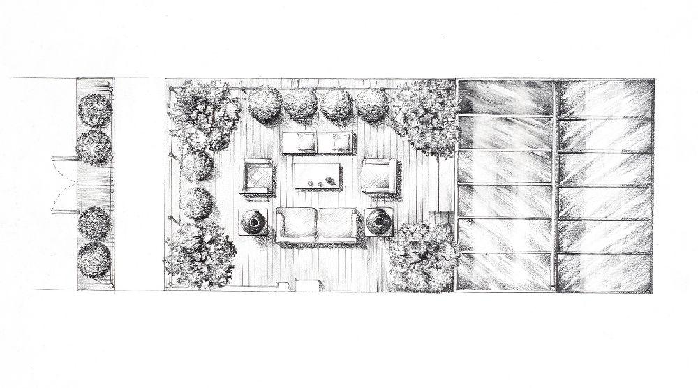 adelaparvu.com despre gradini mici si elegante, Gradina Harcourt Terrace, designer Luciano Giubbilei (5)