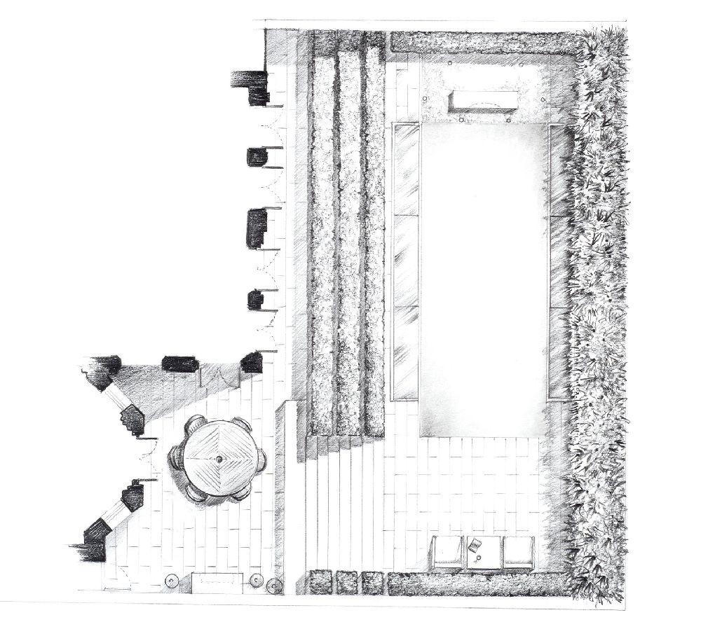 adelaparvu.com despre gradini mici si elegante, Gradina Holland Park, designer Luciano Giubbilei (6)