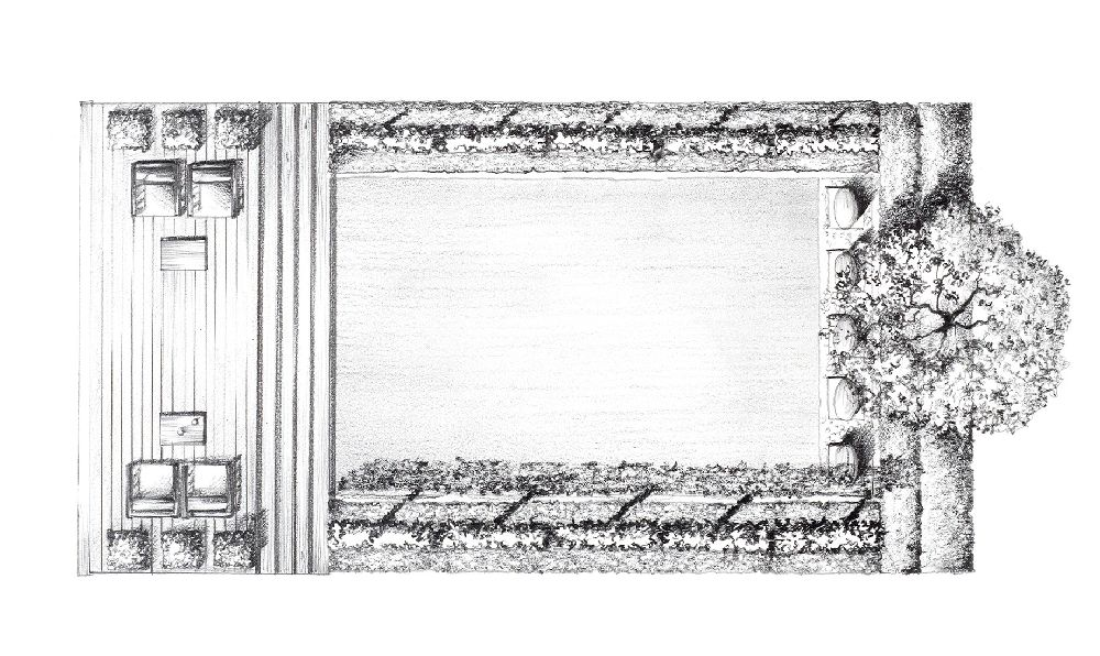 adelaparvu.com despre gradini mici si elegante, Gradina Kensington Gardens, designer Luciano Giubbilei (6)