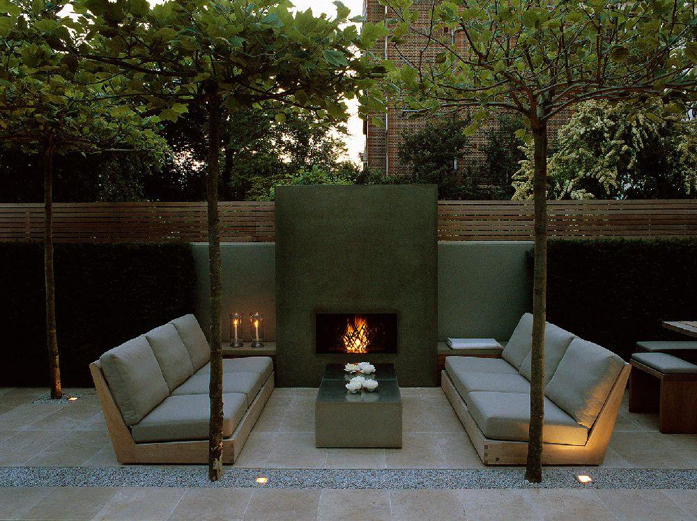adelaparvu.com despre gradini mici si elegante, Gradina Notting Hill, designer Luciano Giubbilei (2)