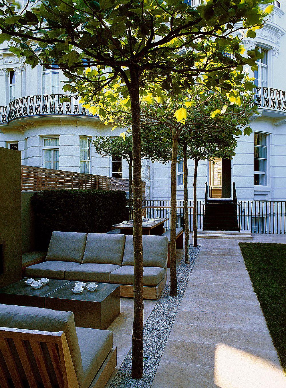 adelaparvu.com despre gradini mici si elegante, Gradina Notting Hill, designer Luciano Giubbilei (4)