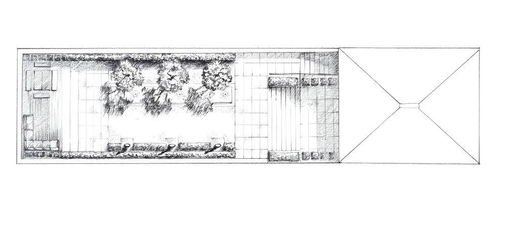 adelaparvu.com despre gradini mici si elegante, Gradina Pelham Crescent, designer Luciano Giubbilei (7)