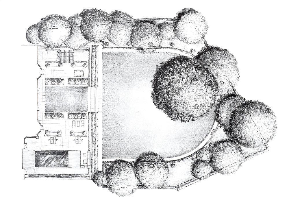adelaparvu.com despre gradini mici si elegante, Gradina Wentworth, designer Luciano Giubbilei (7)