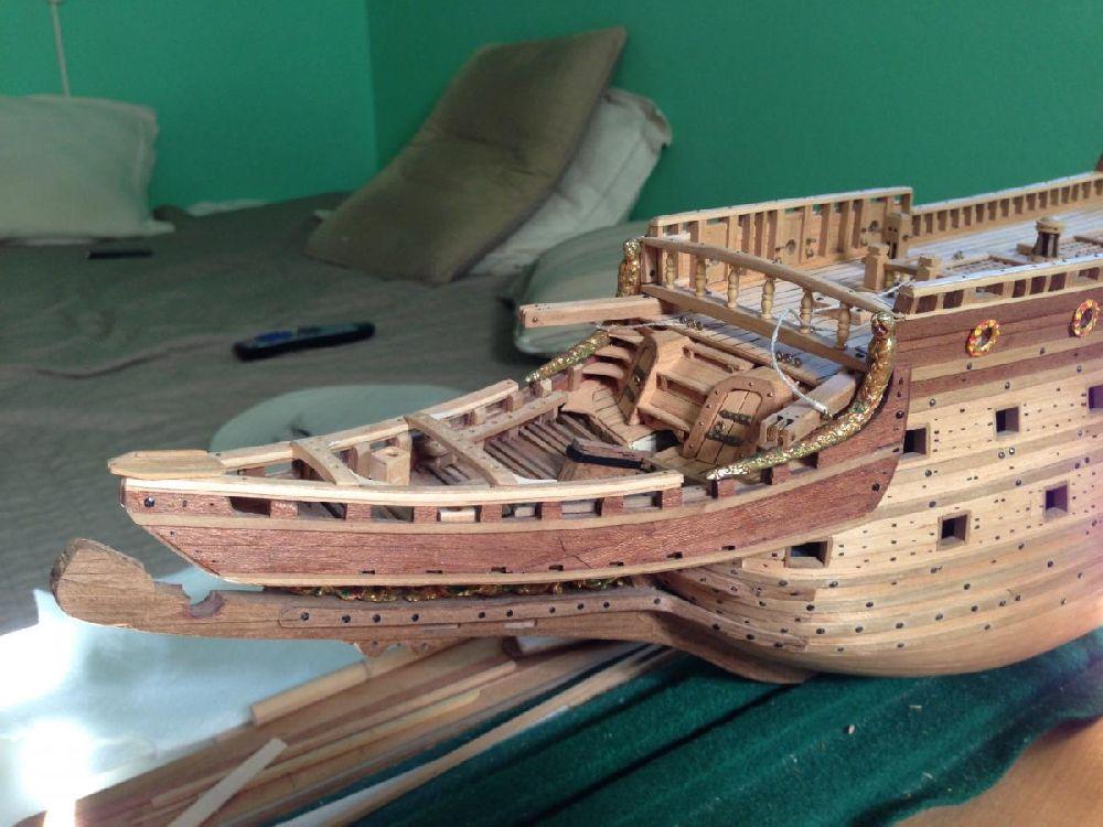 adelaparvu.com despre kituri de constructie, nava istorica (4)