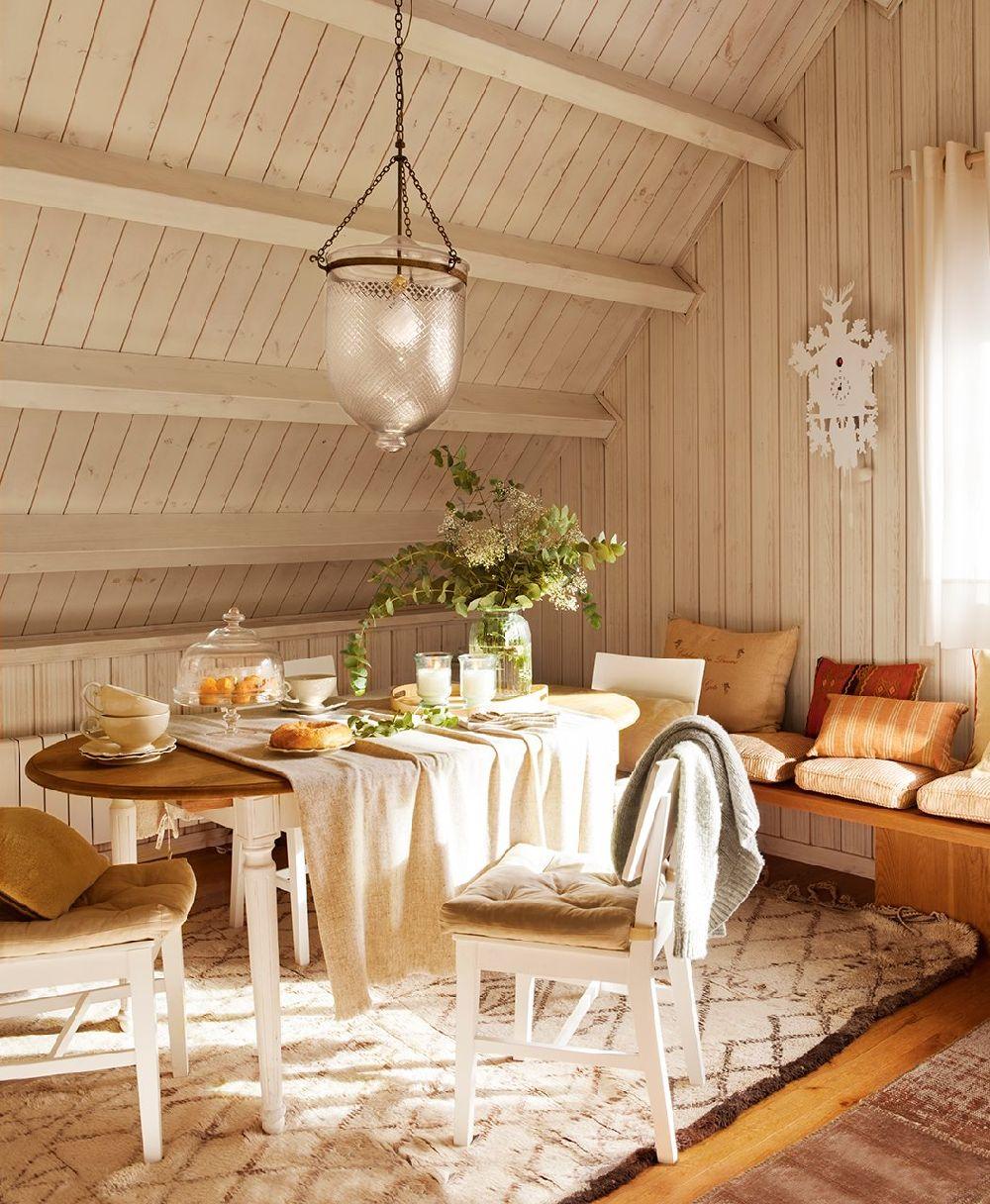 adelaparvu.com despre locuinta la mansarda, arhitect Cristina Carbonell, Foto ElMueble (3)