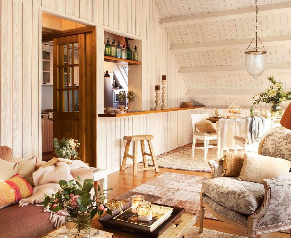 adelaparvu.com despre locuinta la mansarda, arhitect Cristina Carbonell, Foto ElMueble (4)