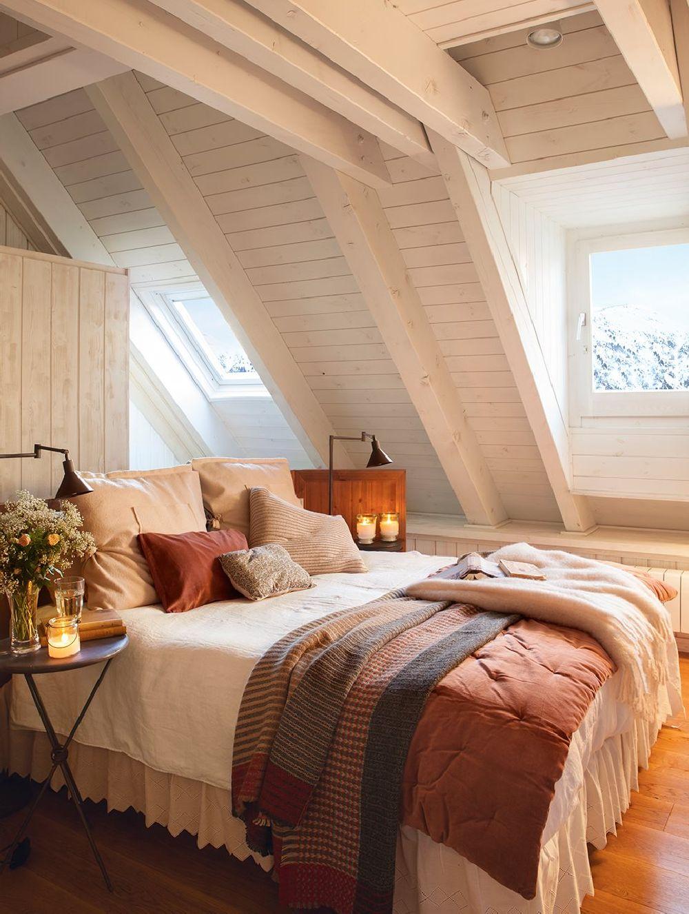 adelaparvu.com despre locuinta la mansarda, arhitect Cristina Carbonell, Foto ElMueble (9)
