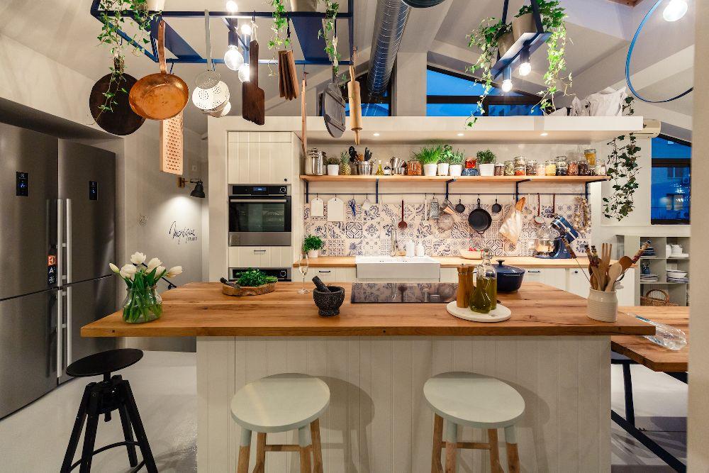adelaparvu.com despre mansarda transformata in atelier culinar, Mazilique Studio, design arh. Eliza Yokina, Foto Catalin Georgescu (10)