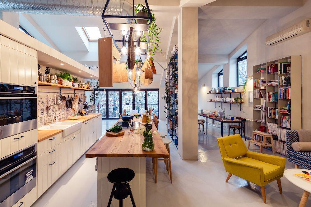 adelaparvu.com despre mansarda transformata in atelier culinar, Mazilique Studio, design arh. Eliza Yokina, Foto Catalin Georgescu (5)