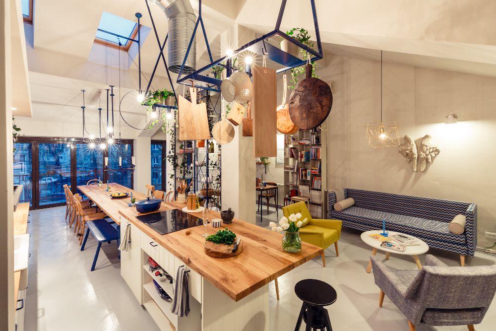 adelaparvu.com despre mansarda transformata in atelier culinar, Mazilique Studio, design arh. Eliza Yokina, Foto Catalin Georgescu (9)