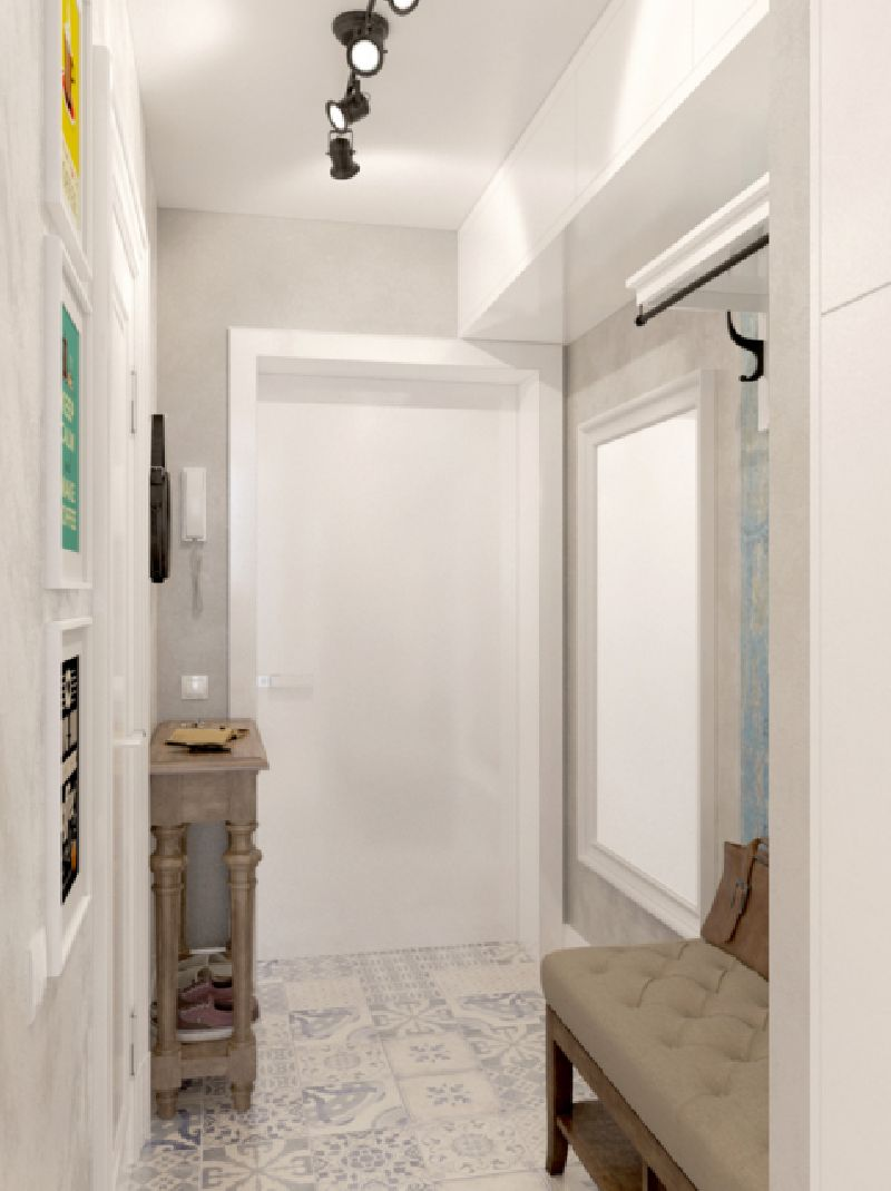 adelaparvu.com despre proiect garsoniera 25 mp, spatiu lung si ingust, design interior Zukkini (11)