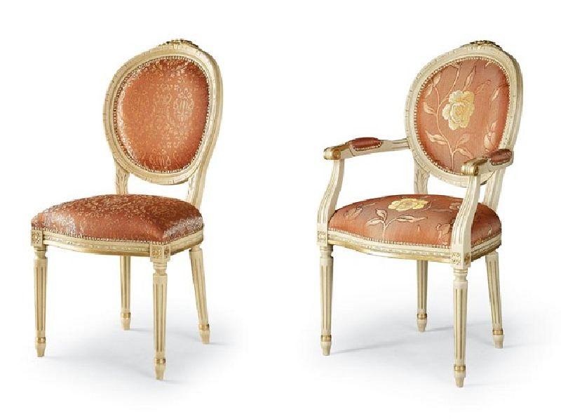 adelaparvu.com despre scaune din lemn cu design clasic, provensal produse in Romania, producator Nuova Romital (2)