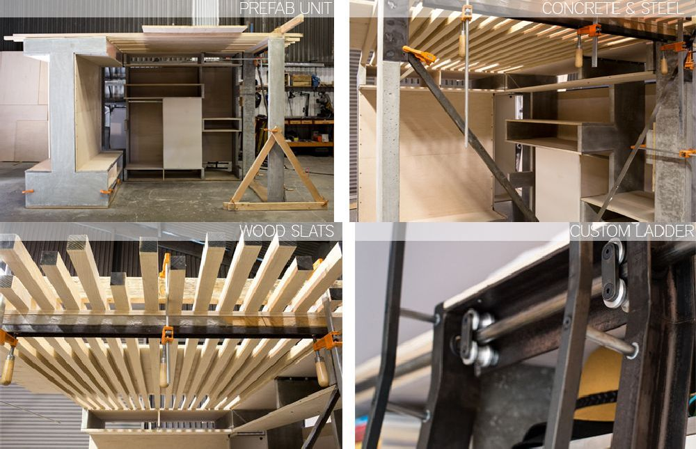 adelaparvu.com despre Domino Loft 5 in 1, design ICOSA Design si Peter Suen, Foto Brian Flaherty (6)