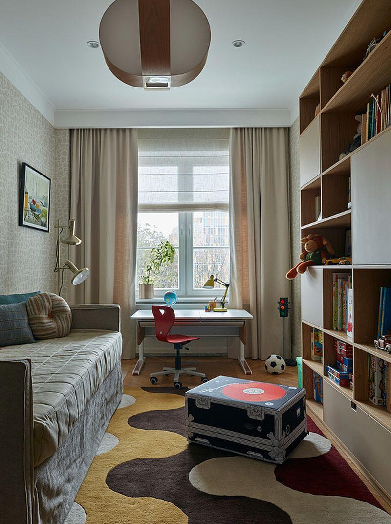 adelaparvu.com despre amenajare eleganta la bloc, locuinta Moscova, designer Vera Totskiy (9)