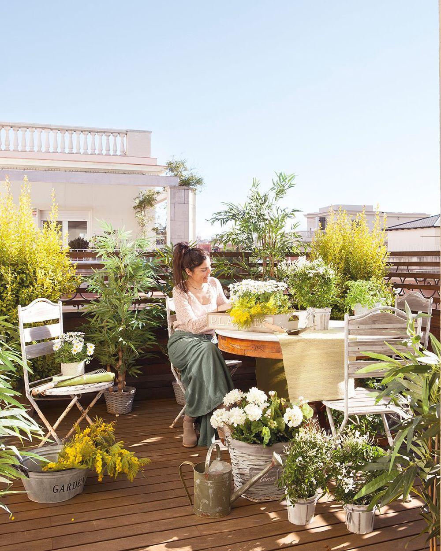 adelaparvu.com despre apartament cu terasa, design interior Anna Taberner, Foto ElMueble (13)