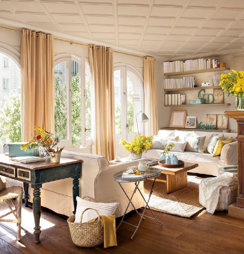 adelaparvu.com despre apartament cu terasa, design interior Anna Taberner, Foto ElMueble (17)