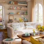 adelaparvu.com despre apartament cu terasa, design interior Anna Taberner, Foto ElMueble (2)