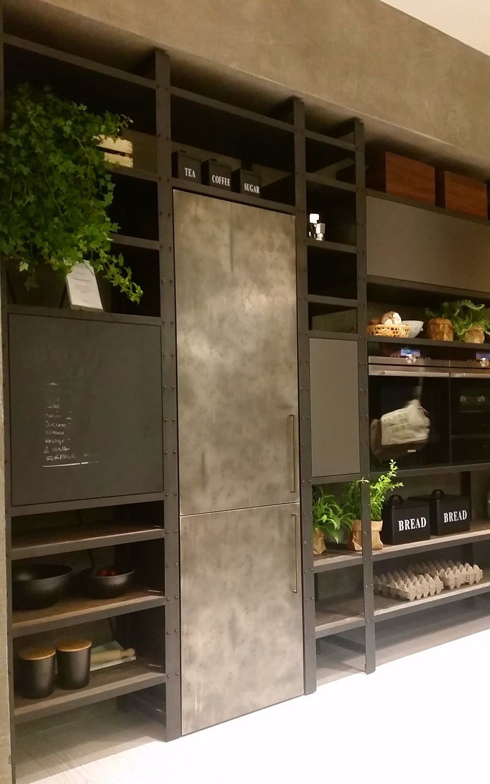 adelaparvu.com despre bucatarii in stil industrial, colectia Factory Aster Cucine (16)
