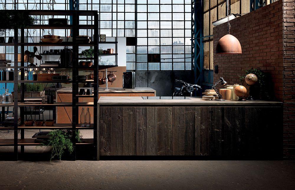 adelaparvu.com despre bucatarii in stil industrial, colectia Factory Aster Cucine (31)