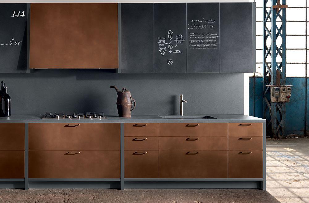 adelaparvu.com despre bucatarii in stil industrial, colectia Factory Aster Cucine (41)