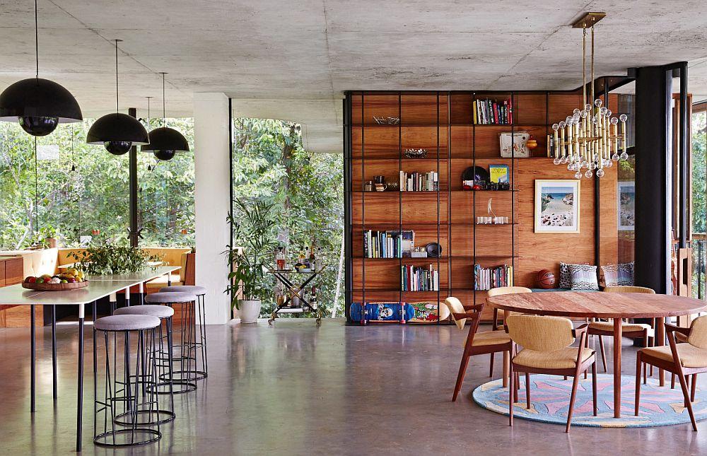 adelaparvu.com despre casa din beton si sticla, Planchonella House, arhitect Jesse Bennet, Foto Sean Fennessy (10)