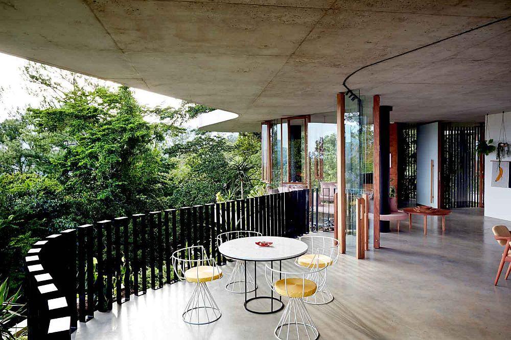 adelaparvu.com despre casa din beton si sticla, Planchonella House, arhitect Jesse Bennet, Foto Sean Fennessy (12)