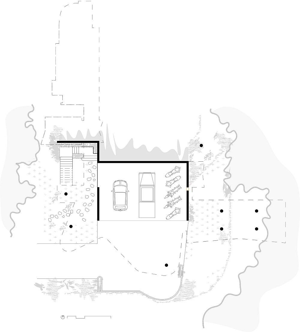 adelaparvu.com despre casa din beton si sticla, Planchonella House, arhitect Jesse Bennet, Foto Sean Fennessy (13)