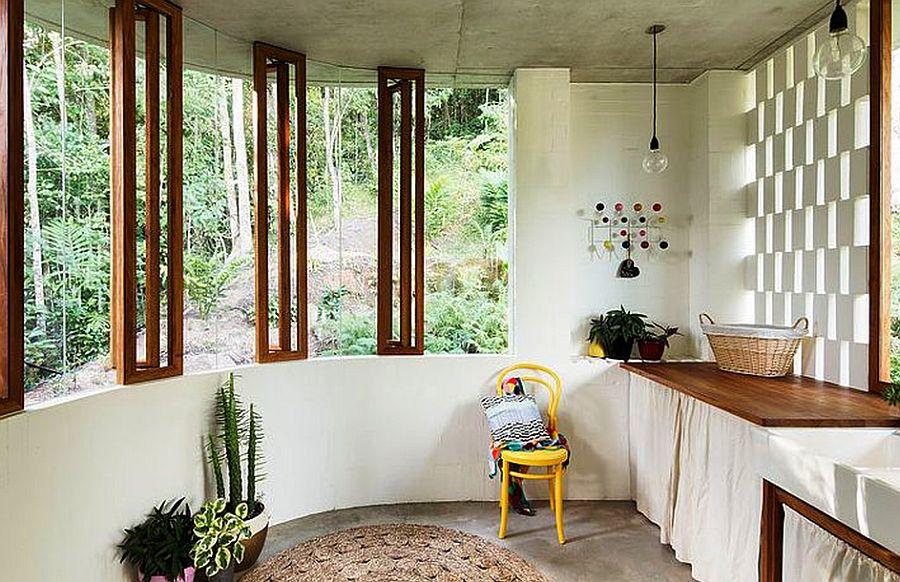 adelaparvu.com despre casa din beton si sticla, Planchonella House, arhitect Jesse Bennet, Foto Sean Fennessy (3)