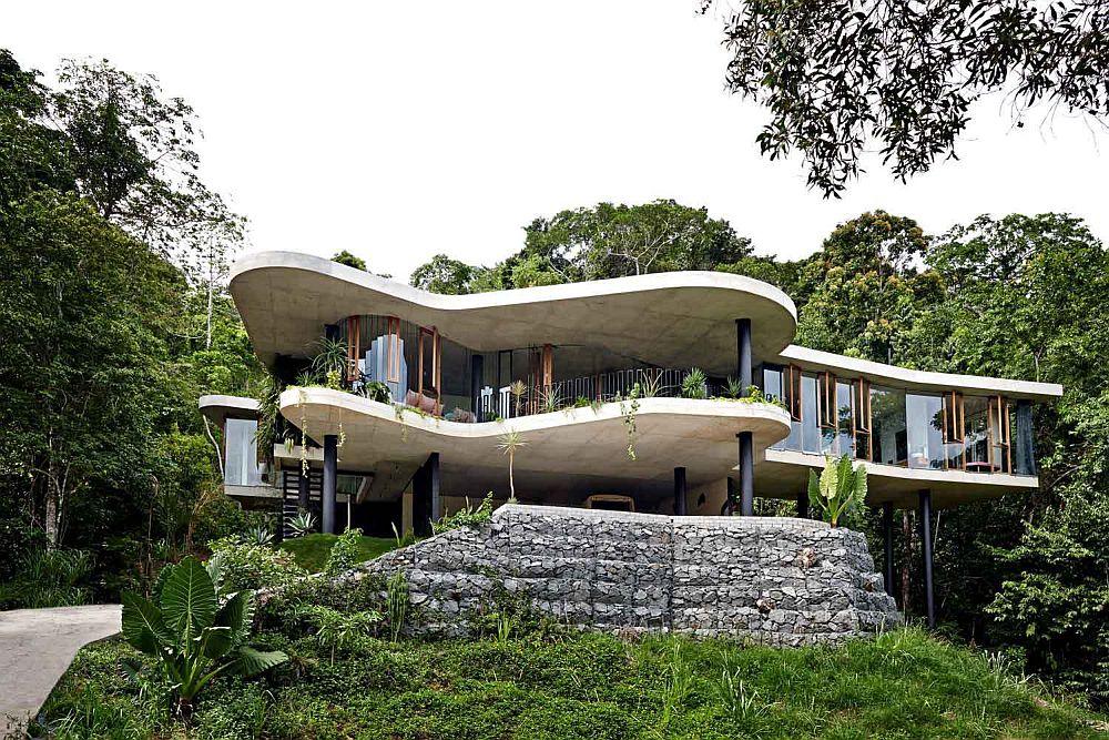 adelaparvu.com despre casa din beton si sticla, Planchonella House, arhitect Jesse Bennet, Foto Sean Fennessy (30)