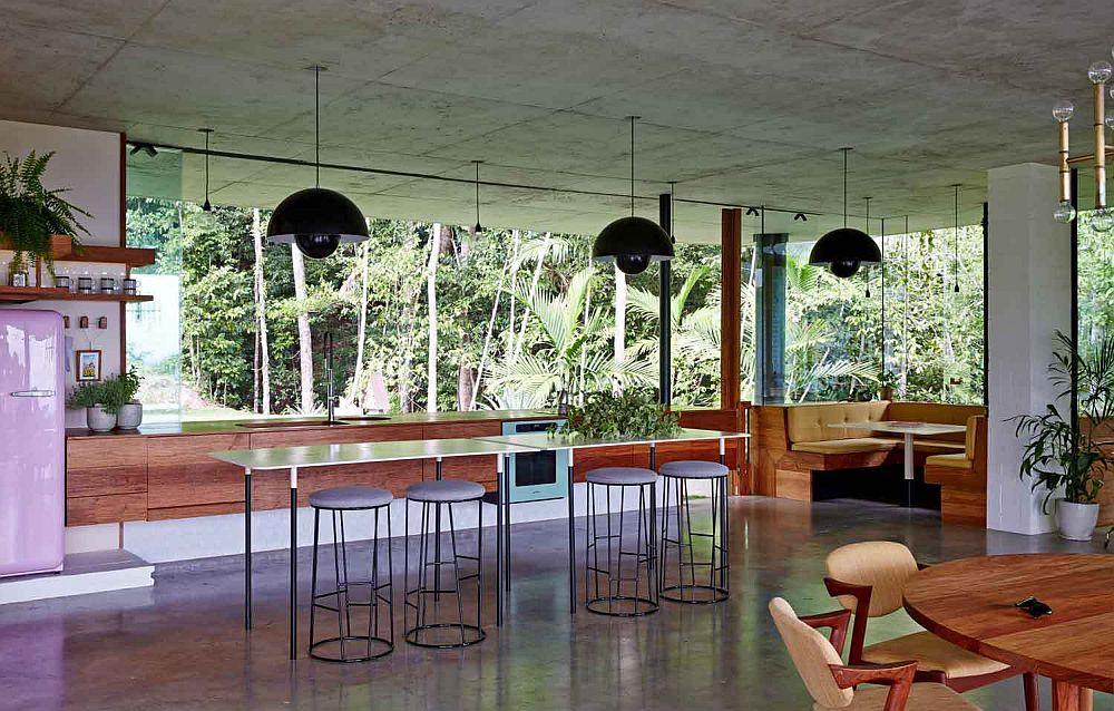 adelaparvu.com despre casa din beton si sticla, Planchonella House, arhitect Jesse Bennet, Foto Sean Fennessy (31)