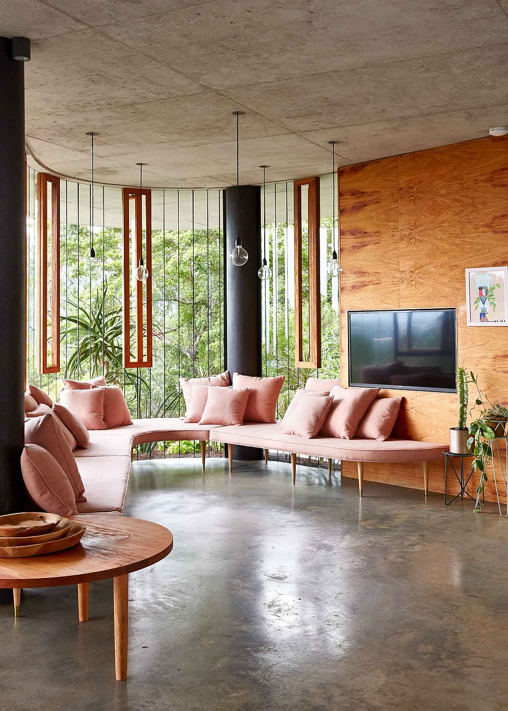 adelaparvu.com despre casa din beton si sticla, Planchonella House, arhitect Jesse Bennet, Foto Sean Fennessy (36)