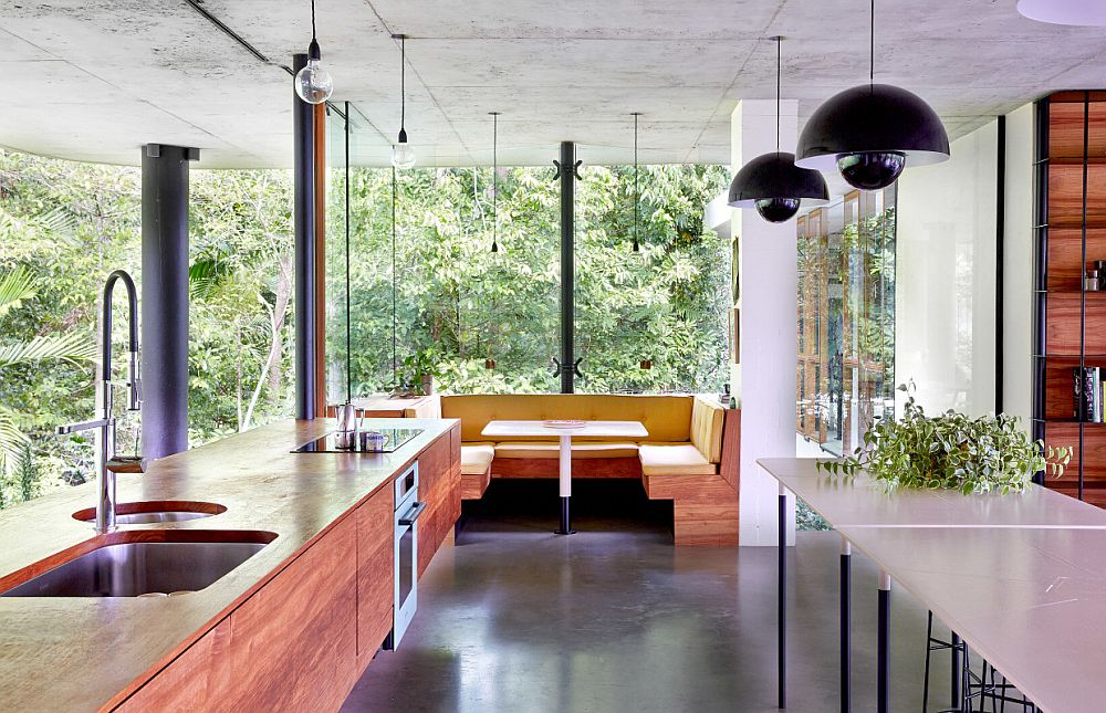 adelaparvu.com despre casa din beton si sticla, Planchonella House, arhitect Jesse Bennet, Foto Sean Fennessy (8)