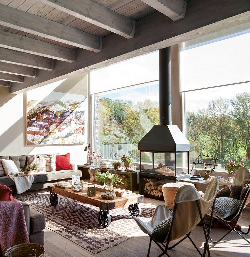 adelaparvu.com despre casa din lemn cu ferestre catre peisaj, design interior Marta Tobella, Sacum Studio, Foto ElMuelbe (14)