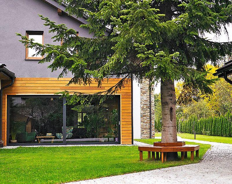 adelaparvu.com despre casa lunga si ingusta, casa Polinia, Foto Michal Skorupski (3)