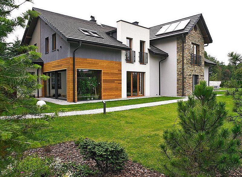 adelaparvu.com despre casa lunga si ingusta, casa Polinia, Foto Michal Skorupski (7)