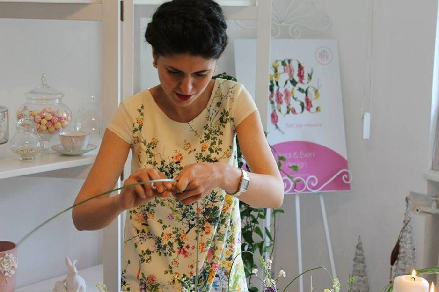 adelaparvu.com despre concurs floral Sun Plaza, florist Adina Filculescu, EnRose (2)