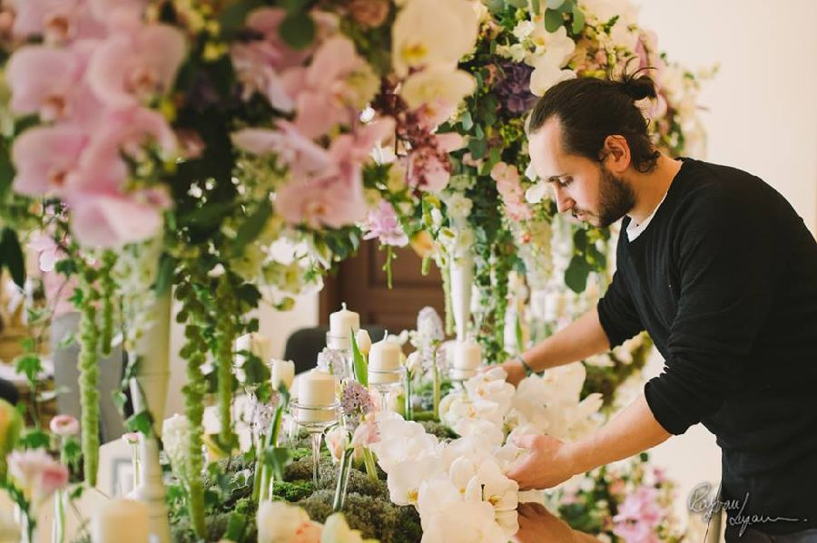 adelaparvu.com despre concurs floral Sun Plaza, florist Alex Dadoo, Maison Dadoo (1)