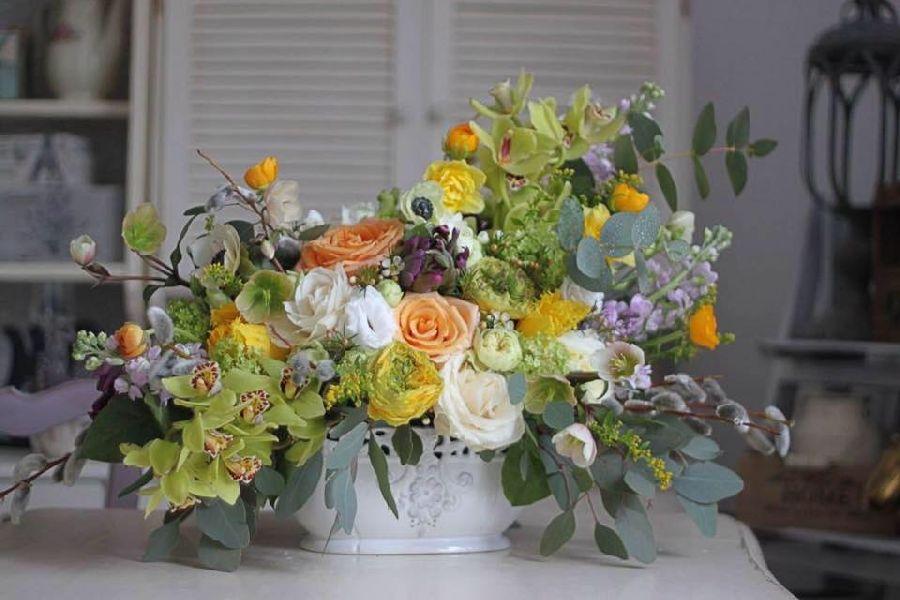 adelaparvu.com despre concurs floral Sun Plaza, florist Mihaela Gunta, The Wedding Company (1)
