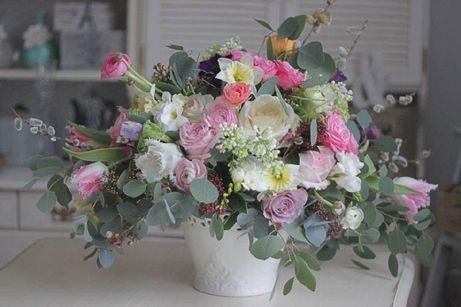 adelaparvu.com despre concurs floral Sun Plaza, florist Mihaela Gunta, The Wedding Company (4)
