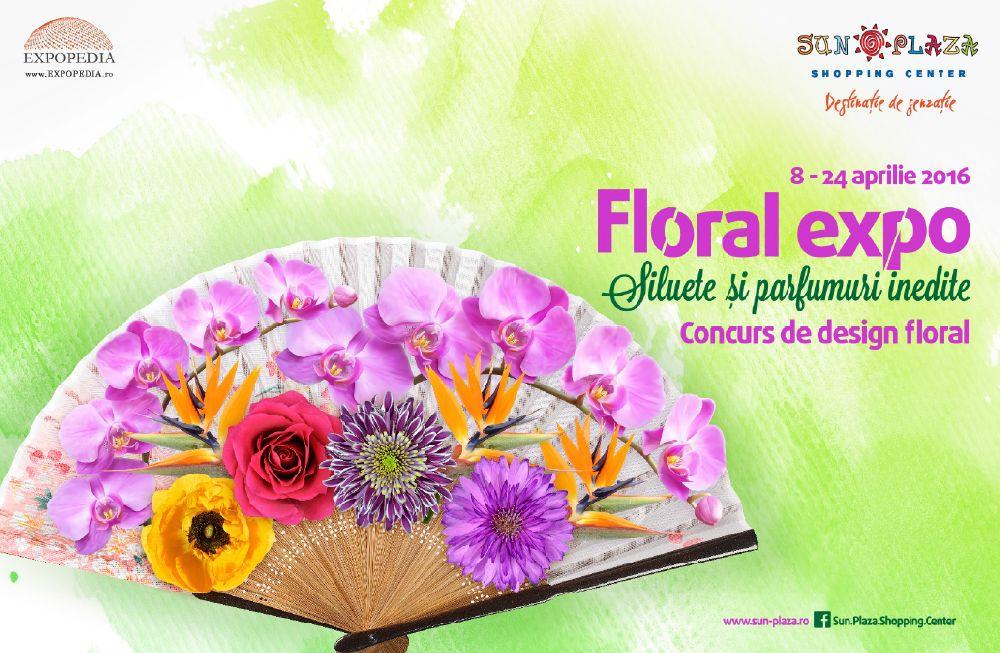 adelaparvu.com despre concusr floral la Sun Plaza aprilie 2016, Afis Floral Expo