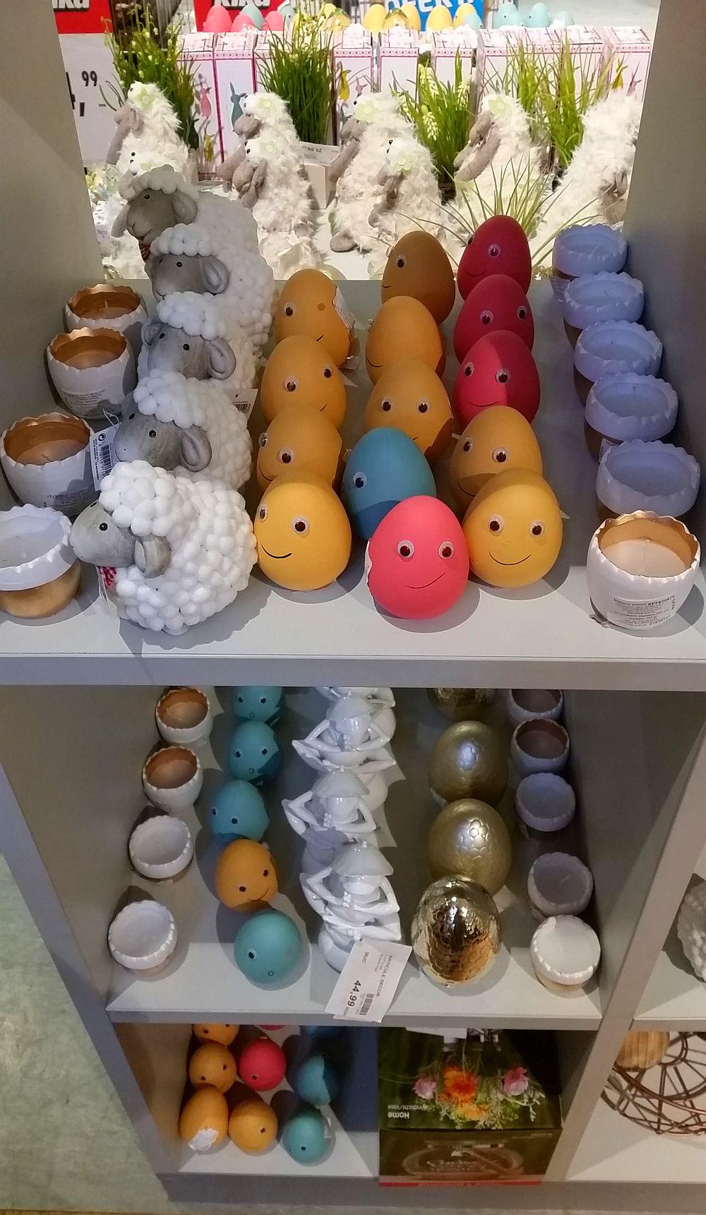 adelaparvu.com despre decoratiuni si vesela Kika, decorul mesei de Paste (1)