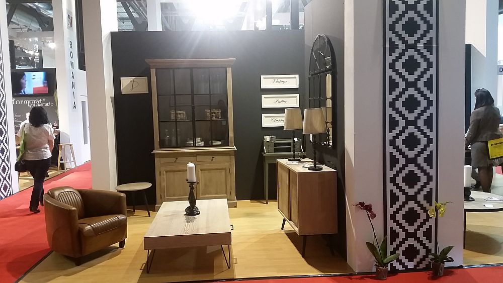adelaparvu.com despre firme romanesti de mobila la Salone del Mobile 2016, stand by Durieux (2)