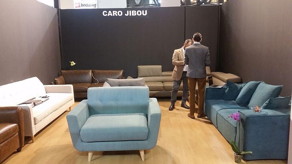 adelaparvu.com despre firme romanesti de mobila la Salone del Mobile Milano 2016, stand Caro Jibou