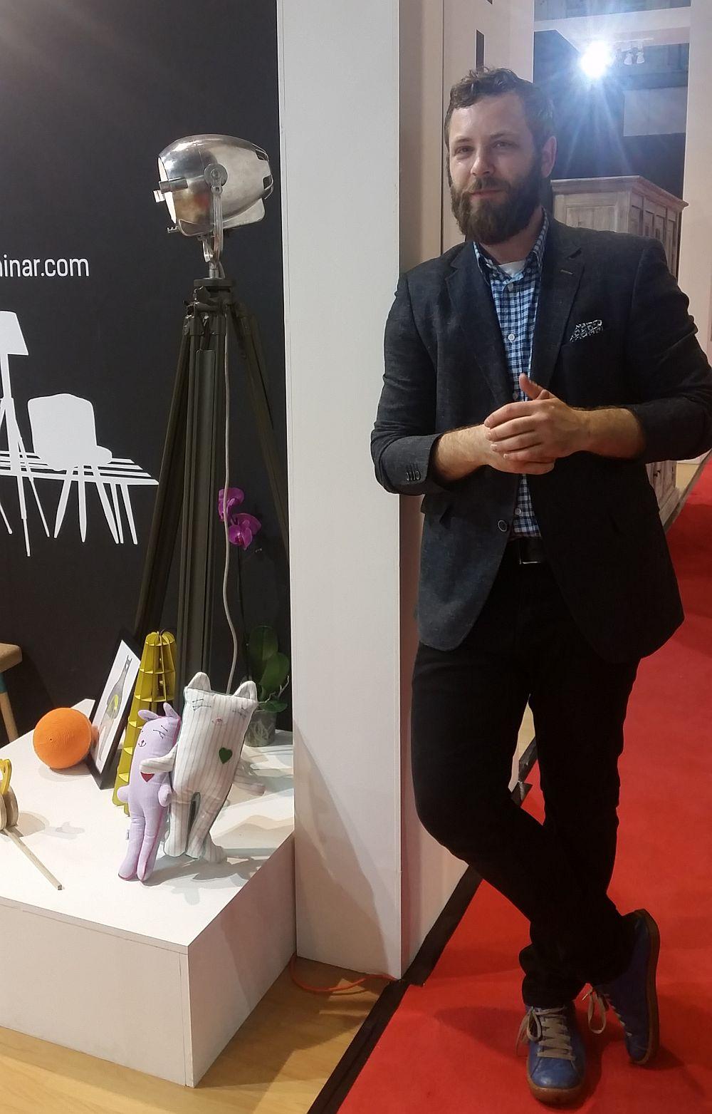 adelaparvu.com despre firme romanesti de mobila la Salone del Mobile Milano 2016, stand Dizainar (3)
