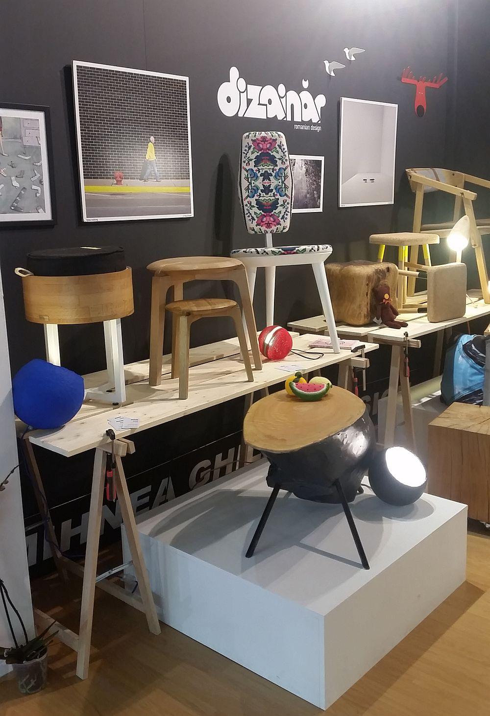 adelaparvu.com despre firme romanesti de mobila la Salone del Mobile Milano 2016, stand Dizainar (4)