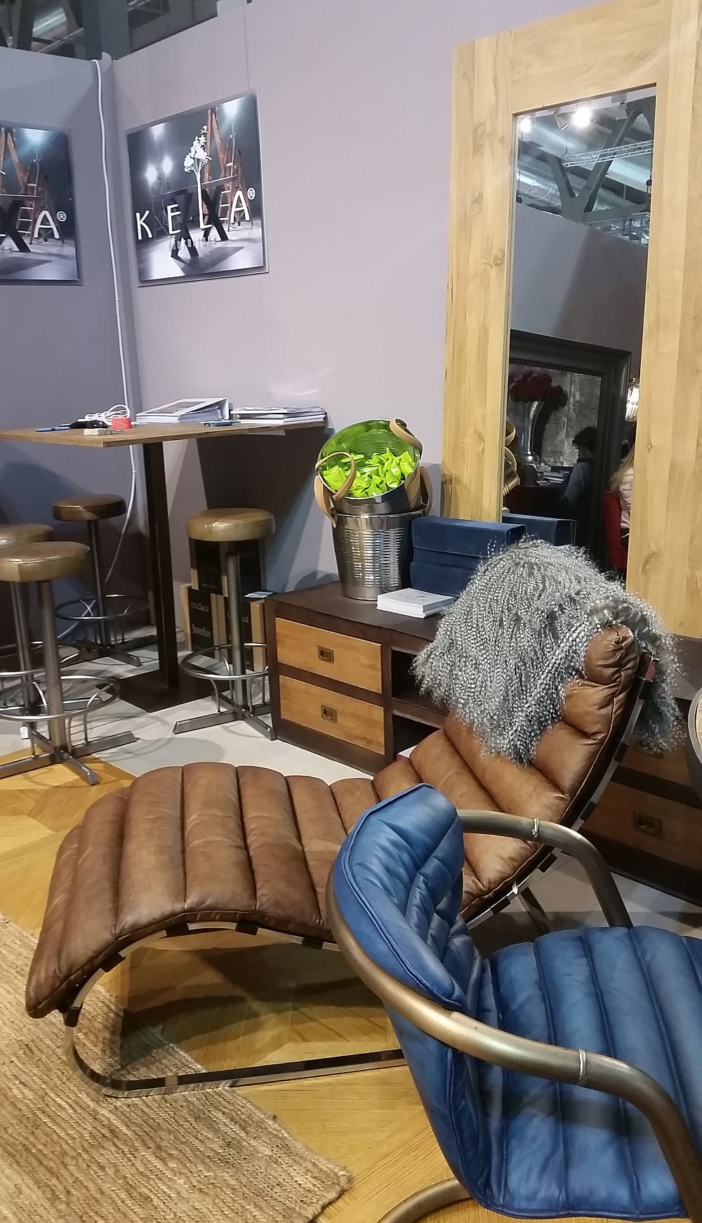 adelaparvu.com despre firme romanesti de mobila la Salone del Mobile Milano 2016, stand Kela (2)