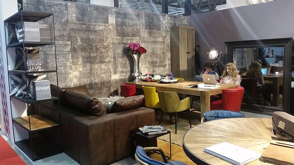 adelaparvu.com despre firme romanesti de mobila la Salone del Mobile Milano 2016, stand Kela (4)