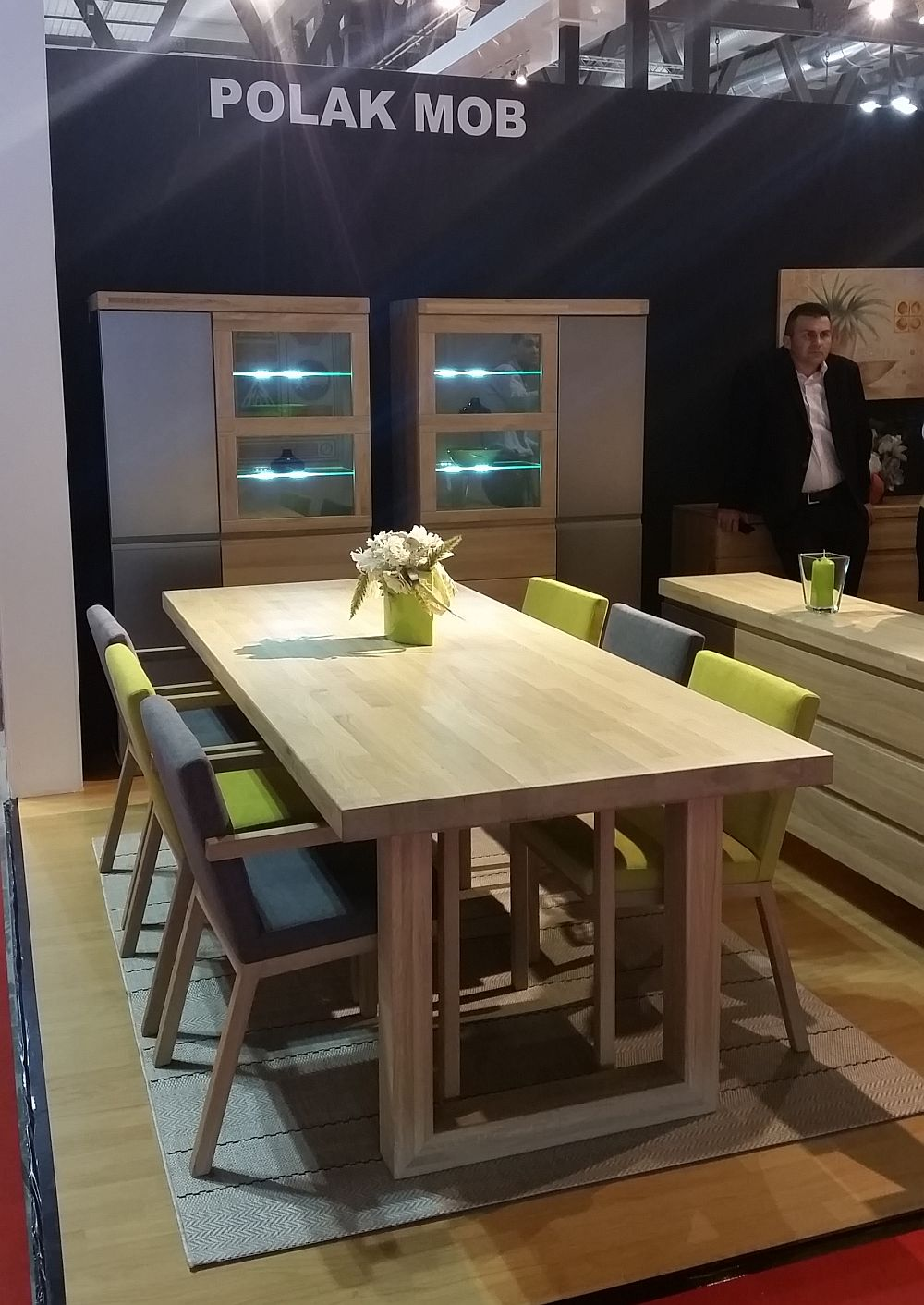 adelaparvu.com despre firme romanesti de mobila la Salone del Mobile Milano 2016, stand Polak Mob (2)