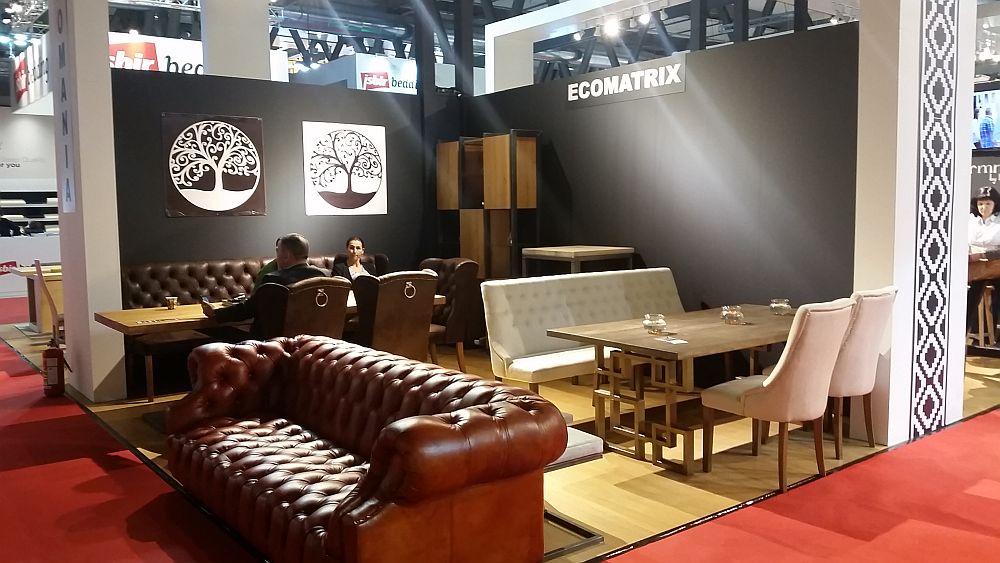 adelaparvu.com despre firme romanesti de mobila la Salone del Mobile Milano 2016, stand Quadra Furniture (5)